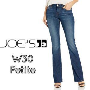 Joe's jeans petite boot cut women's blue jeans